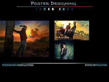Poster Design/Photo Retouching/Manipulation