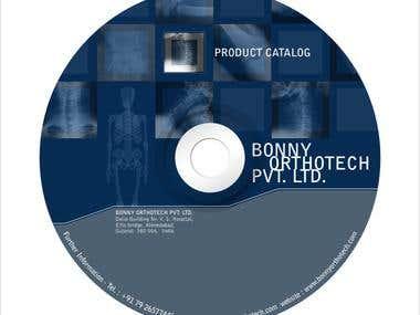 CD / DVD Label, Sticker Design
