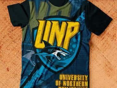 UNP SHARKS ILOCOS T-SHIRT DESIGN