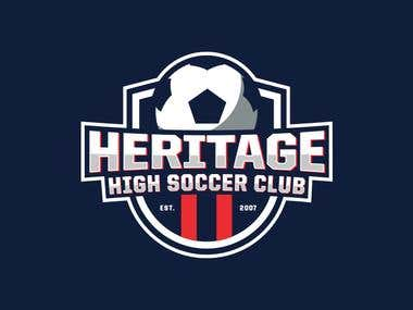 Heritage High S.C. logo