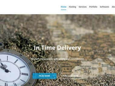 Software Farm Web-Site