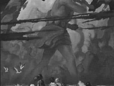 N.C. Wyeth Master Study