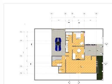 architectural floor