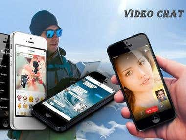 Video chat app