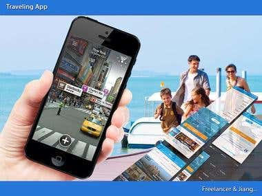 Travelling guidance app