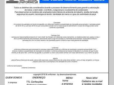 Site Html 5 com CSS 3