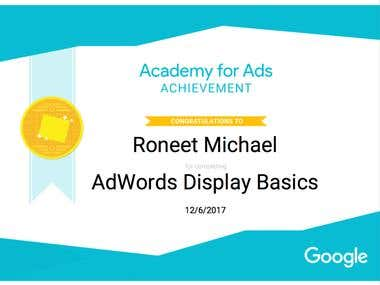 AdWords Display Basic Certification