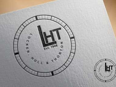 "Winning Design ""Locker, Hull, & Thorton Logo"""