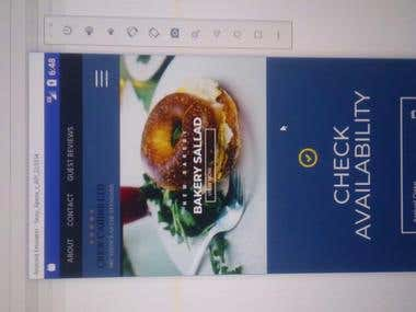 This is an Webvview app developed natively for android.