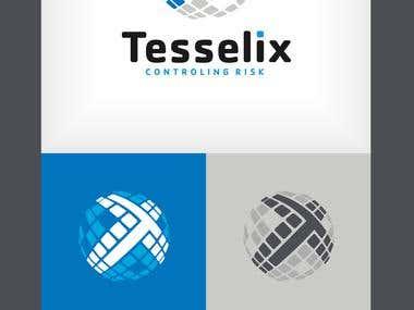 Tesselix Logo design
