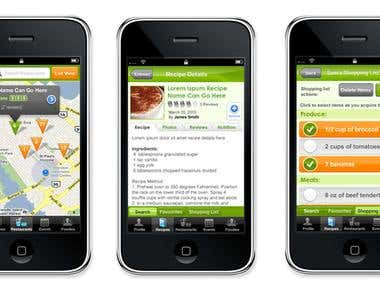 FoodConnect-iPhone-App