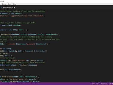 Angular4 / NodeJS / MySQL