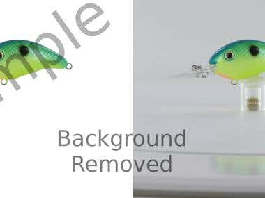 Sample Background Removal