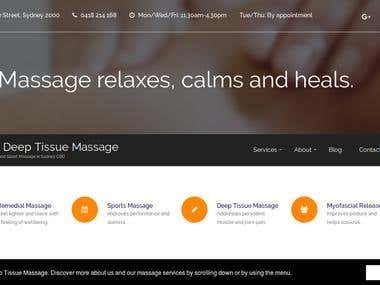 Sydney Deep Tissue Massage