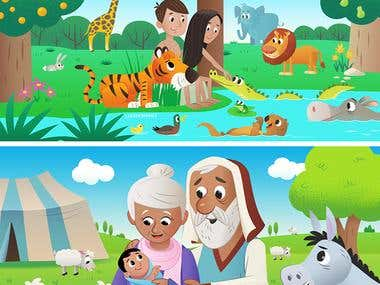 Children Book Illutration