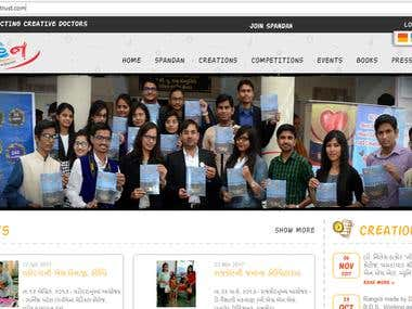 Codeigniter PHP NGO Website
