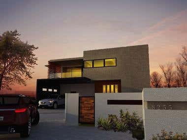 Two storey residential