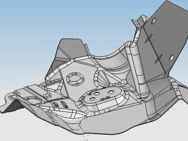 3D Part modelling