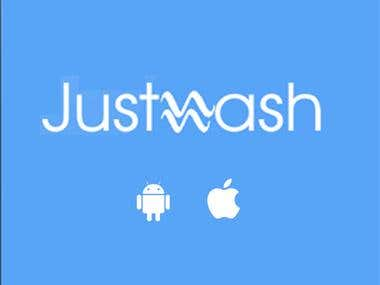 Just Wash - Android & iOS App