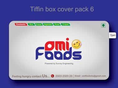 TIFFIN BOX COVER DESIGN