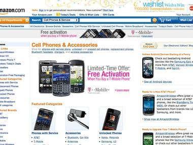 Amazon.com cellphone store