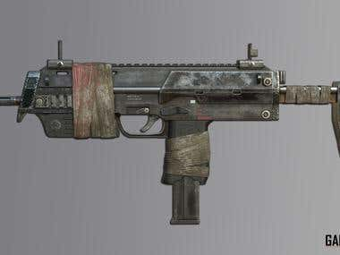 3D_GUN_MODELLING