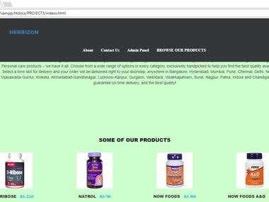 MY DYNAMIC WEBSITE