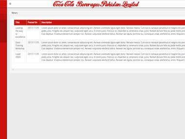 CCBPL Web Based Back-End Panel