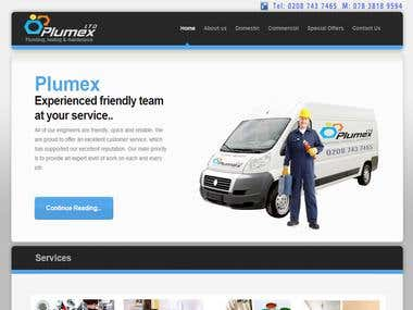 Full website design (Plumbing company)