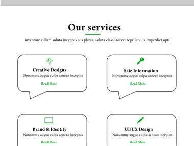 Blog page for your website