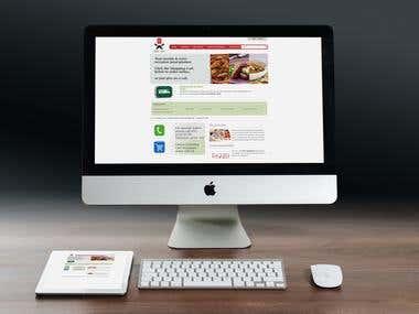 www.homechefegypt.com based on Codeigniter