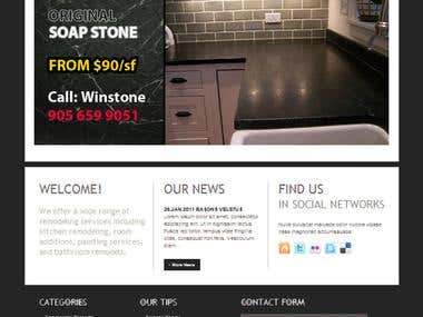 Elegant Soap Stone - Wordpress Integration