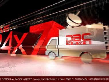 Logo Design for DBC NEWS   By Sadek Ahmed