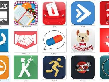 Some of App icons / Logos