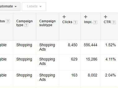 Shopping Campaign Optimization