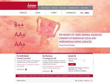 New Jubilee Life Insurance Website