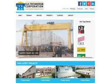HH TechnoFab Website.