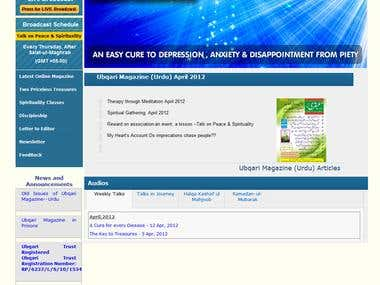 Spiritual Website