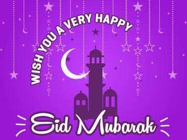 Eid Mubarak - Infographis