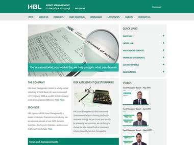 HBL Asset Management Website