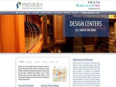 Primera Interiors Website