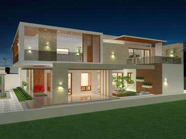 Residence - contemporary design