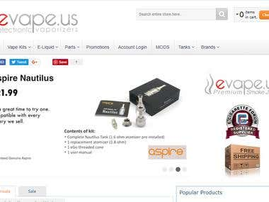 evape.us: Electronic Cigarette - Best Electronic Cigarette