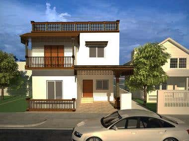 Residence - Traditional Based Elevation Design