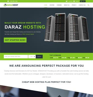 PHP Daraz Hosting