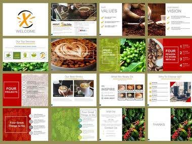 Presentation for Coffee Shop