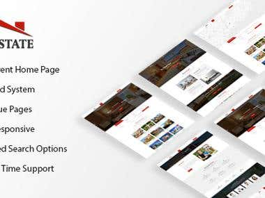 Realestate HTML5 Responsive Template