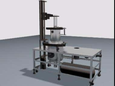An animation of Injection Casting Working