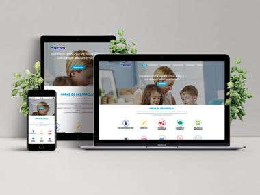 Sicoben Website design