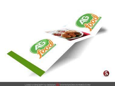 Logo Design for AG FOOD   by SADEK AHMED